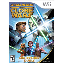 Star Wars: The Clone Wars - Lightsaber Duels (semi-novo)...