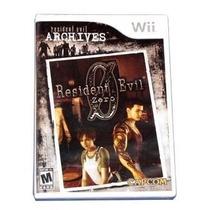 Resident Evil Archives: Resident Evil Zero - Wii