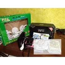 Nintendo Wii Black Destravado
