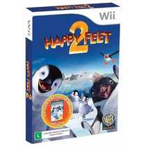 Jogo Happy Feet 2 + Filme Wii Original Lacrado Frete Grátis