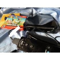 Nitendo Wii Preto + Controles + 2 Jogos Originais + Manuais