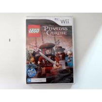 Jogo Nintendo Wii - Lego Piratas Do Caribe - Lacrado