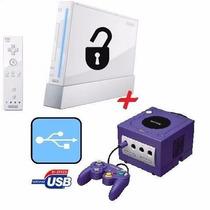 Desbloqueio Modo Usb Nintendo Wii Todas As Versões