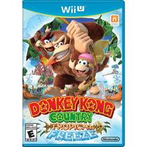 Donkey Kong Tropical Freeze Wii U - Frete Grátis !!!