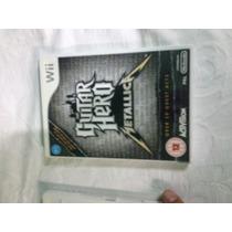 Guita Hero Metallica Wii Original Jogo ( Sistema Pal-m )