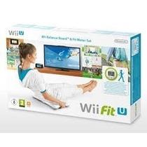 Wii Fit U - Wii U - Novo - Fit Meter + Balance Board + Jogo