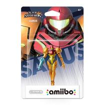 Samus Amiibo Metroid Lacrado Sdgames Wiiu 3ds Smash Bros !!!