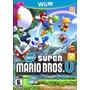 Jogo New Super Mario Bros U Nintendo Wii U Lacrado Envio Já