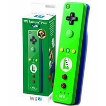Wii Remote Com Motion Plus Embutido Edição Especial Do Mario