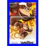 Amiibo Donkey Kong Nintendo Wii U Smash Bros Original Novo