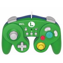 Controle Game Cube Luigi Nintendo Wii U Original Novo
