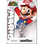Amiibo Mario Silver Prata Prateado - Lacrado Wii U / New 3ds