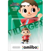 Amiibo Villager Nintendo Novo Lacrado Wii U E-sedex 6,07