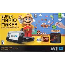 Nintendo Wii U 32gb Mario Maker Bundle - 12x Sem Juros