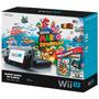 Nintendo Wii U Deluxe 32gb Completo + 2 Jogos Mario E Luigi