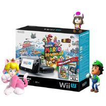 Console Nintendo Wii U Preto 32gb Mario