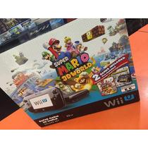 Console Nintendo Wii U 32gb Super Mario 3d World Deluxe