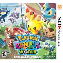 Pokémon Rumble World - 3ds / 2ds / New 3ds - Frete R$ 9