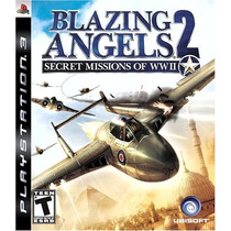 Blazing Angels 2: Secret Missions Of Wwii - Ps3 - Frete R$ 9