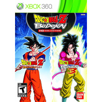 Dragon Ball Z Budokai Hd Collection - Xbox 360 - Frete R$ 9