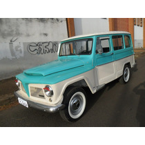 Ford Rural Willys Luxo 72 - Original Revisada Docks Ok Linda