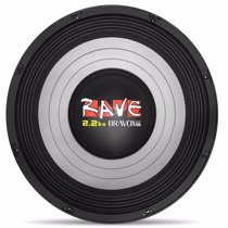 Auto Falante 12 1100w Rms Bravox Rave Pancadao Medio Grave