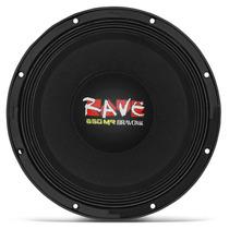 Woofer Bravox Rave Rv12-s4 Boca 12 Polegadas 650w Rms 4 Ohms
