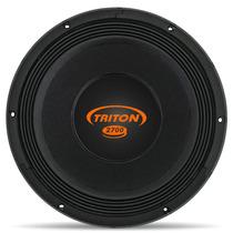 Woofer Triton Tr 2700 12 2700w Rms 4 Ohms Bobina Simples