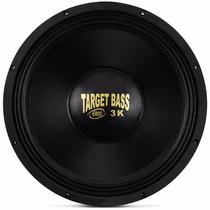 Alto Falante Woofer Eros Target Bass 3k 15 Pol 1500w Rms 3.0