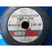 Woofer Novik Instrum Musicais Wnxxs 250 W P/ Carro Casa 15