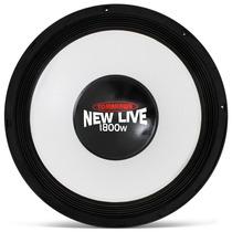 Woofer Tomahawk 15 1800w Rms New Live 1800 Alto Falante Som