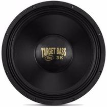 Alto Falante Eros Woofer 15 1500w Rms Target Bass 3.0k O Par