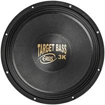 Alto Falante Eros Woofer 15 - Target Bass 3.0k 1500w Rms