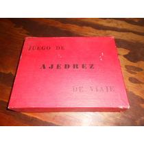 Jogo De Xadrez Antigo Da Argentina - Na Caixa