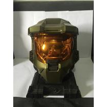 Xbox 360: Kit Capacete Spartan Série Limitada Do Jogo Halo 3