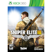 Sniper Elite 3 X360 505 Games