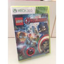 Lego Marvel Vingadores Xbox 360 Midia Física