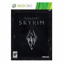The Elder Scrolls V Skyrim Xbox 360 Semi Novo Original