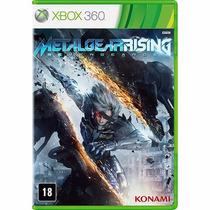 2 Jogos De Xbox 360 - Metal Gear Rising E Mirror Edge