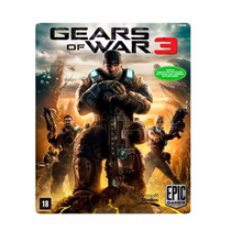 Game Xbox 360 - Gears Of War 3 Via Download Midia Digital
