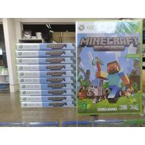 Minecraft Xbox 360 Novo Lacrado