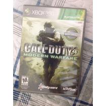 Call Of Duty:modern Warfare Xbox360 Perfeito Estado