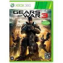 Gears Of War 3 Xbox 360 Manual E Legenda Portugues!