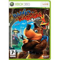 Banjo Kazooie Nuts & Bolts - Xbox 360 - Mídia Fisíca
