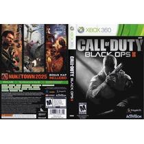 Xbox 360 - Call Of Duty Black Ops 2 - Semi - Míd Fis