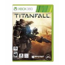 Game Xbox 360 Titanfall Novo Lacrado Super Jogo No Leilão
