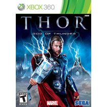 Thor God Of Thunder Xbox 360 - Original Midia Física