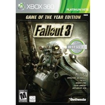 Fallout 3 Xbox 360 Original - Game Of The Year Edition