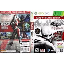 Batman Arkham City Game Of The Year Edition /destravados