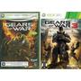 Kit Jogo Gears Of War + Gears Of War 3 Xbox 360 Midia Fisica